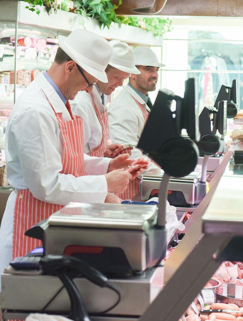 Pork butcher
